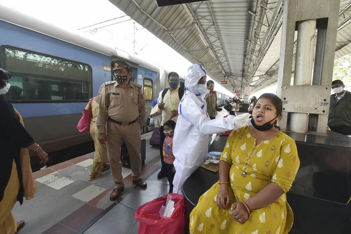 कोरोना का कहर:यूपी में 24 घंटे के भीतर सामने आए 28821 नए केस, 187 लोगों ने तोड़ा दम
