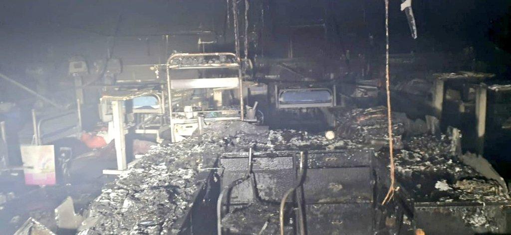 मुंबई: विजय बल्लभ अस्पताल के ICU में लगी भीषण आग, 13 कोरोना मरीजों की मौत