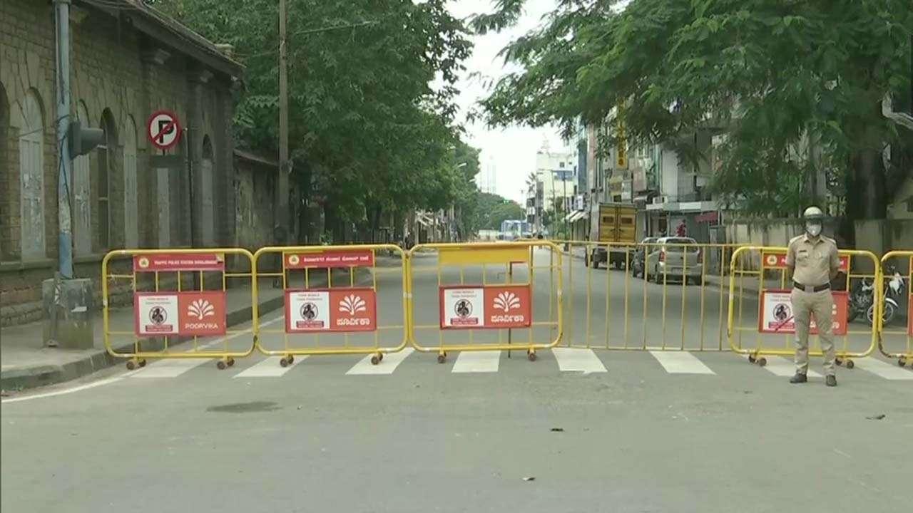 कोरोना का कहर: कर्नाटक में 14 दिन के लॉकडाउन का एलान,पब्लिक ट्रांसपोर्ट बंद