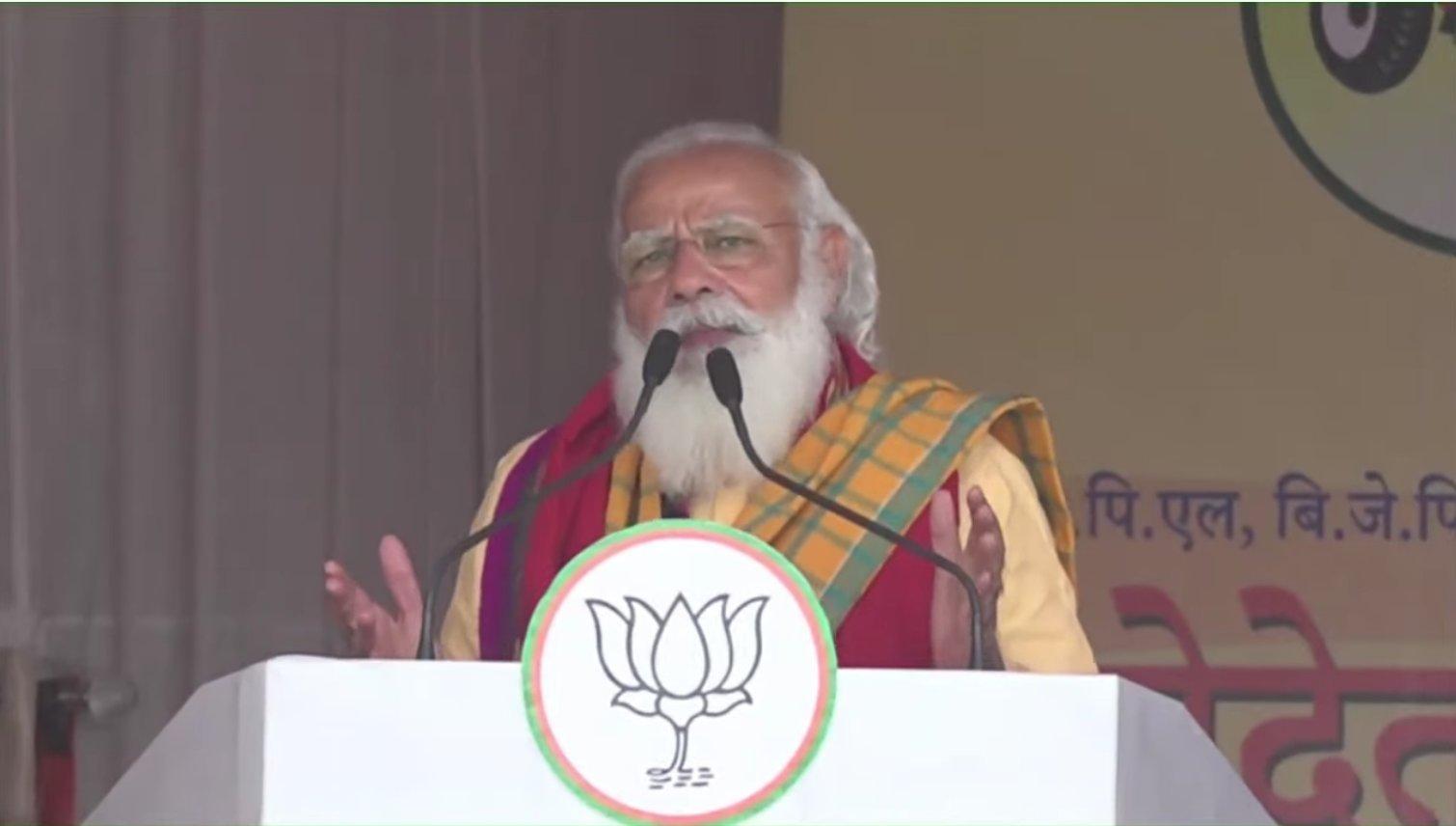 असम के तामुलपुर में बोले पीएम मोदी, 'महाझूठ की पोल खुली, असम का अपमान करने वाले बर्दाश्त नहीं'