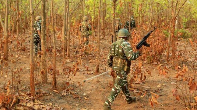 छत्तीसगढ़ के बीजापुर में नक्सली हमला, 5 जवान हुए शहीद, दो नक्सली ढेर