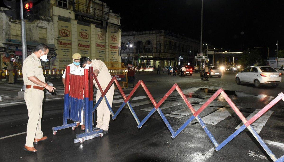 राजधानी लखनऊ में आज रात से लगेगा नाइट कर्फ्यू, जानें क्या रहेगा बंद ?