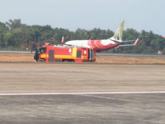 केरल: आग की चेतावनी के बाद एयर इंडिया एक्सप्रेस फ्लाइट की इमरजेंसी लैंडिंग