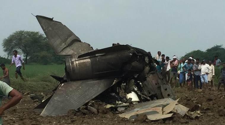 भारतीय वायुसेना का मिग-21 विमान क्रैश, हादसे में ग्रुप कैप्टन की मौत