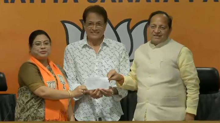 टीवी के 'भगवान राम' ने थामा बीजेपी का दामन,अरुण गोविल ने ली सदस्यता