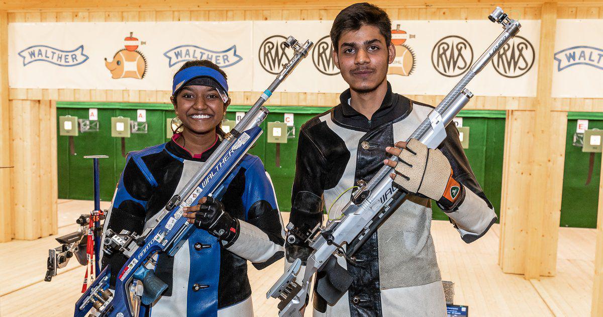 ISSF वर्ल्ड कपः भारत ने जीता 10 मीटर एयर राइफल मिश्रित टीम स्पर्धा का गोल्ड