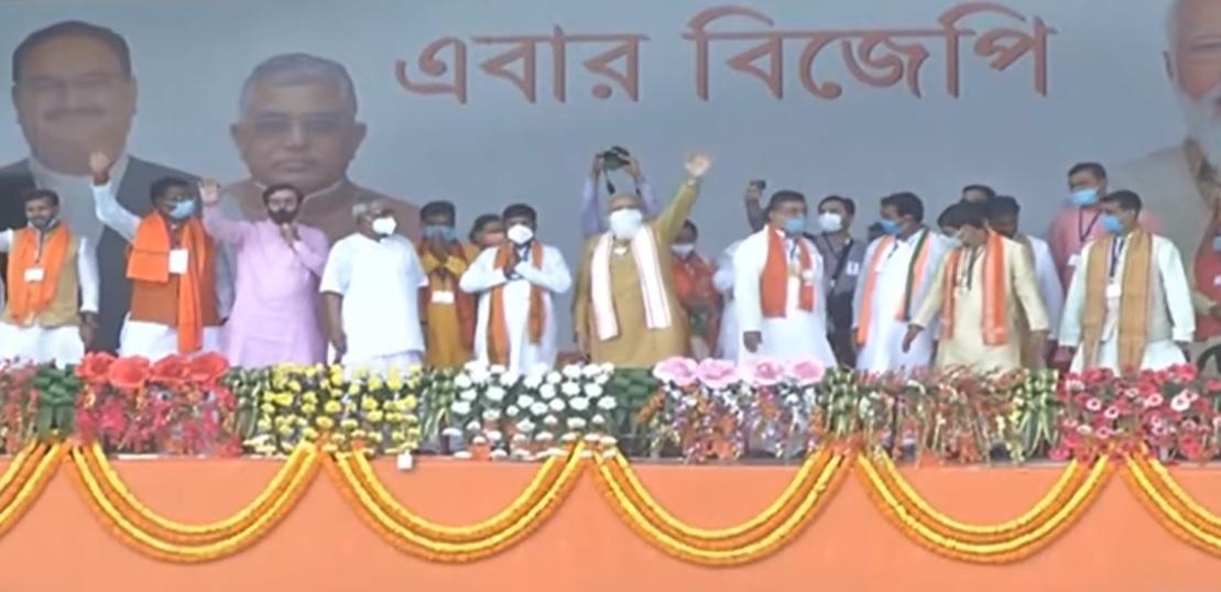 पं.बंगाल के कांथी में पीएम मोदी की चुनावी सभा, कहा-