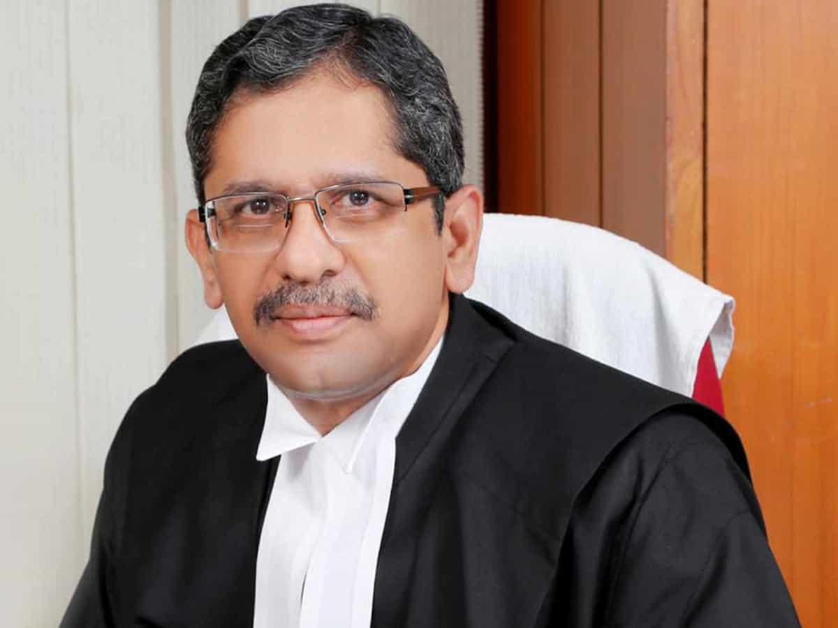 जस्टिस एनवी रमन्ना हो सकते हैं भारत के अगले मुख्य न्यायधीश, CJI बोबडे ने की सरकार से सिफारिश