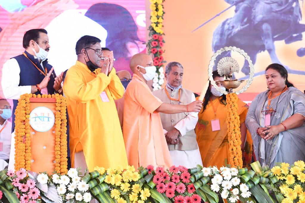 CM योगी ने बहराइच को दी 333.83 करोड़ की सौगात, महाराणा प्रताप की प्रतिमा का किया अनावरण