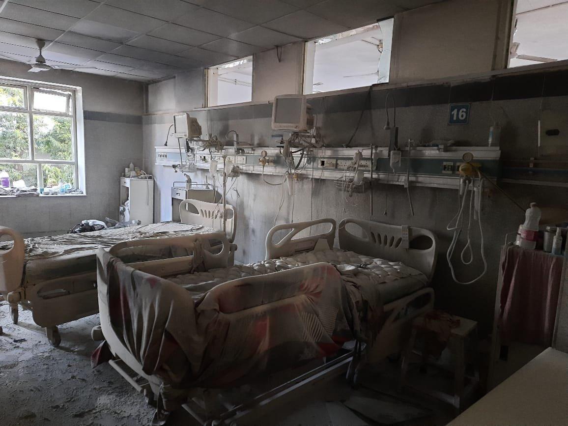 दिल्ली के सफदरजंग अस्पताल में लगी आग, 50 मरीजों को किया गया शिफ्ट
