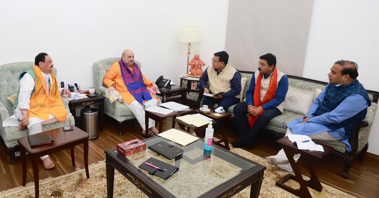 पश्चिम बंगाल चुनाव 2021: अमित शाह और जेपी नड्डा के साथ पहले चरण की 60 सीटों पर मंथन शुरू