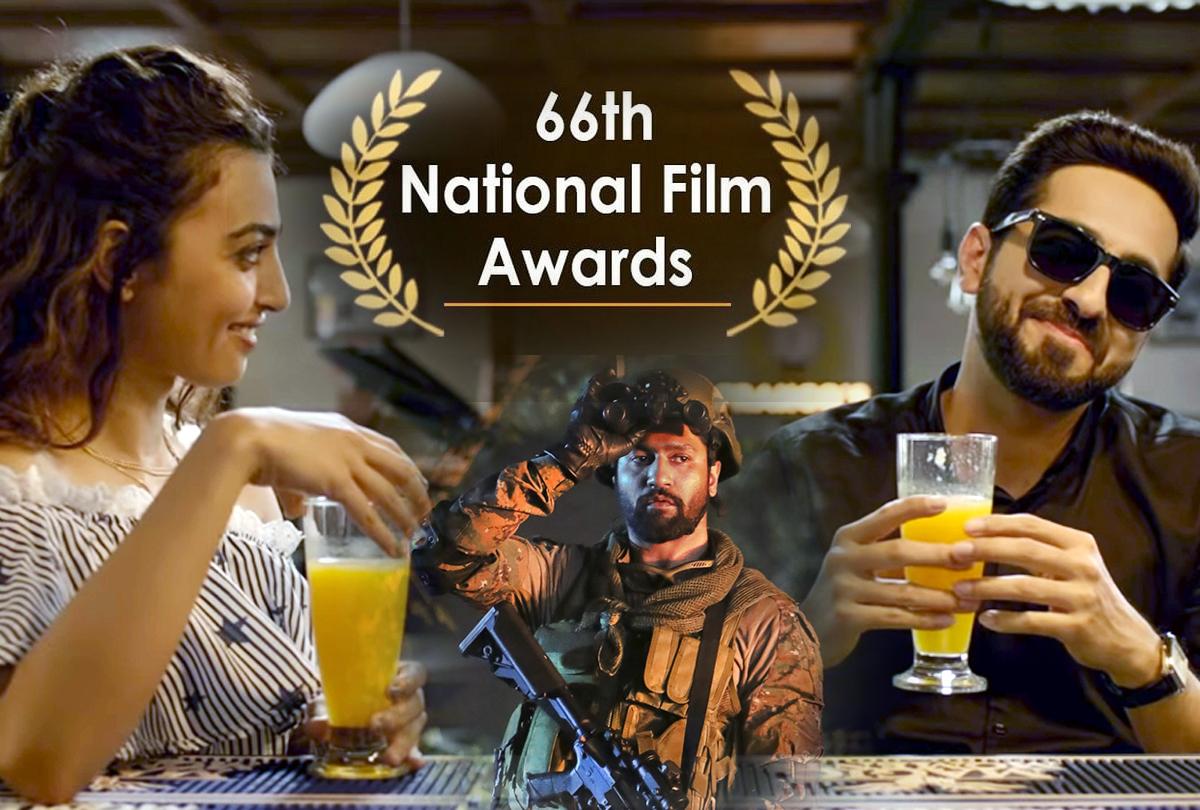 राष्ट्रीय पुरस्कारों की घोषणा: बेस्ट हिंदी फिल्म 'अंधाधुन', आयुष्मान-विक्की कौशल बने बेस्ट एक्टर, देखें लिस्ट किसे मिला कौन सा अवॉर्ड