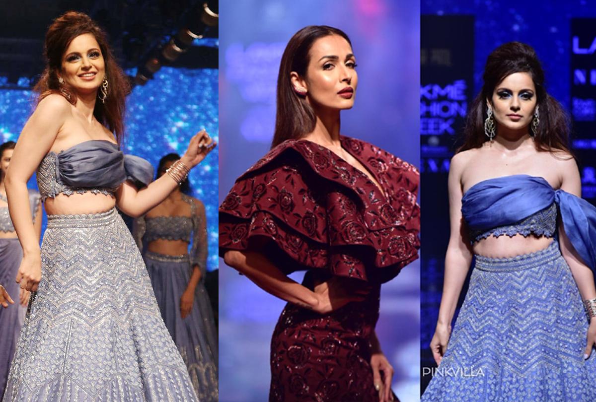 Lakme Fashion Week 2019: यहां तस्वीरों में देखें ''कंगना का जलवा''