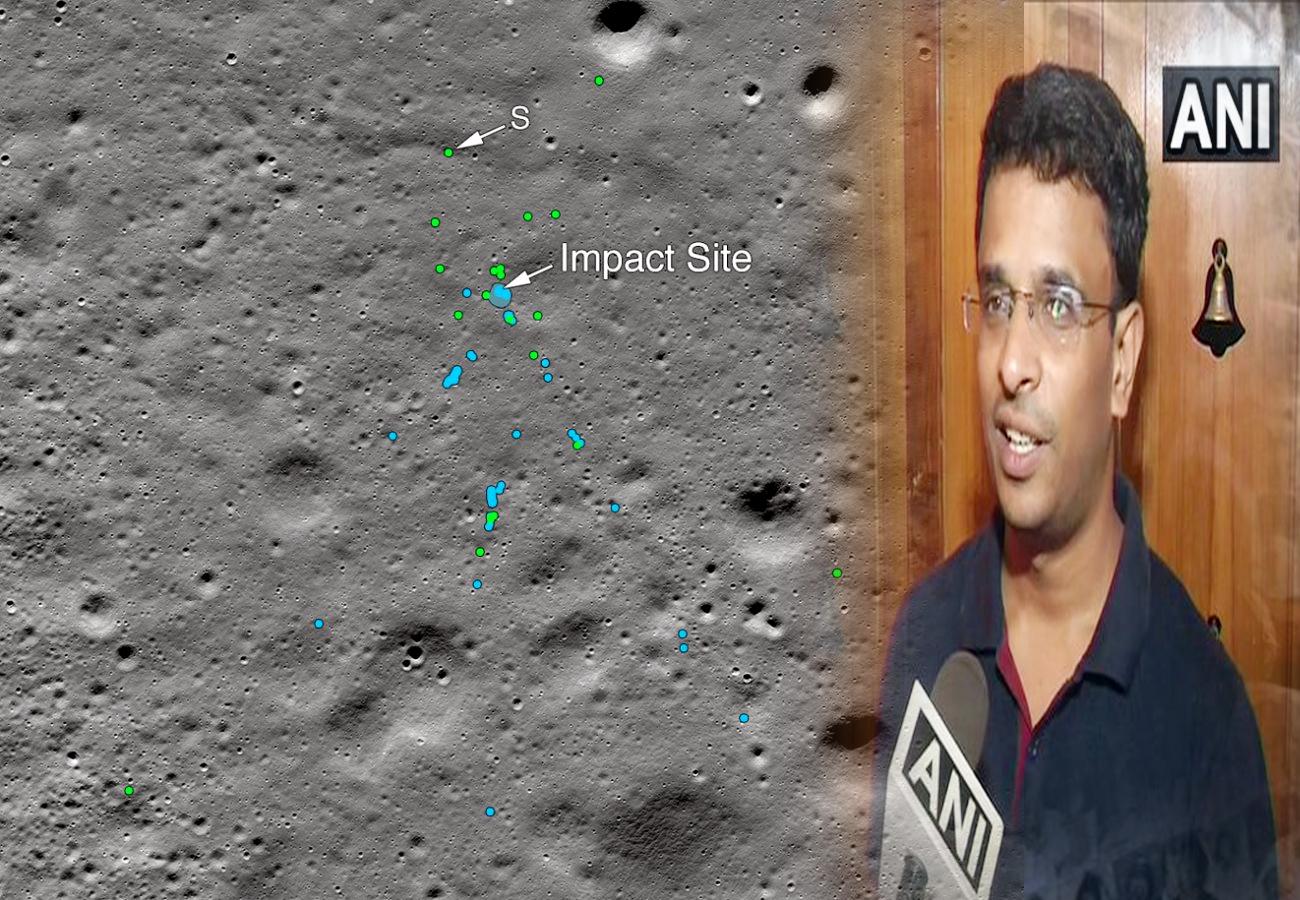 Chandrayaan2: विक्रम लैंडर का मलबा मिला, क्रैश साइट से 750 मीटर दूर मिले 3 टुकड़े, नासा ने शेयर की तस्वीर