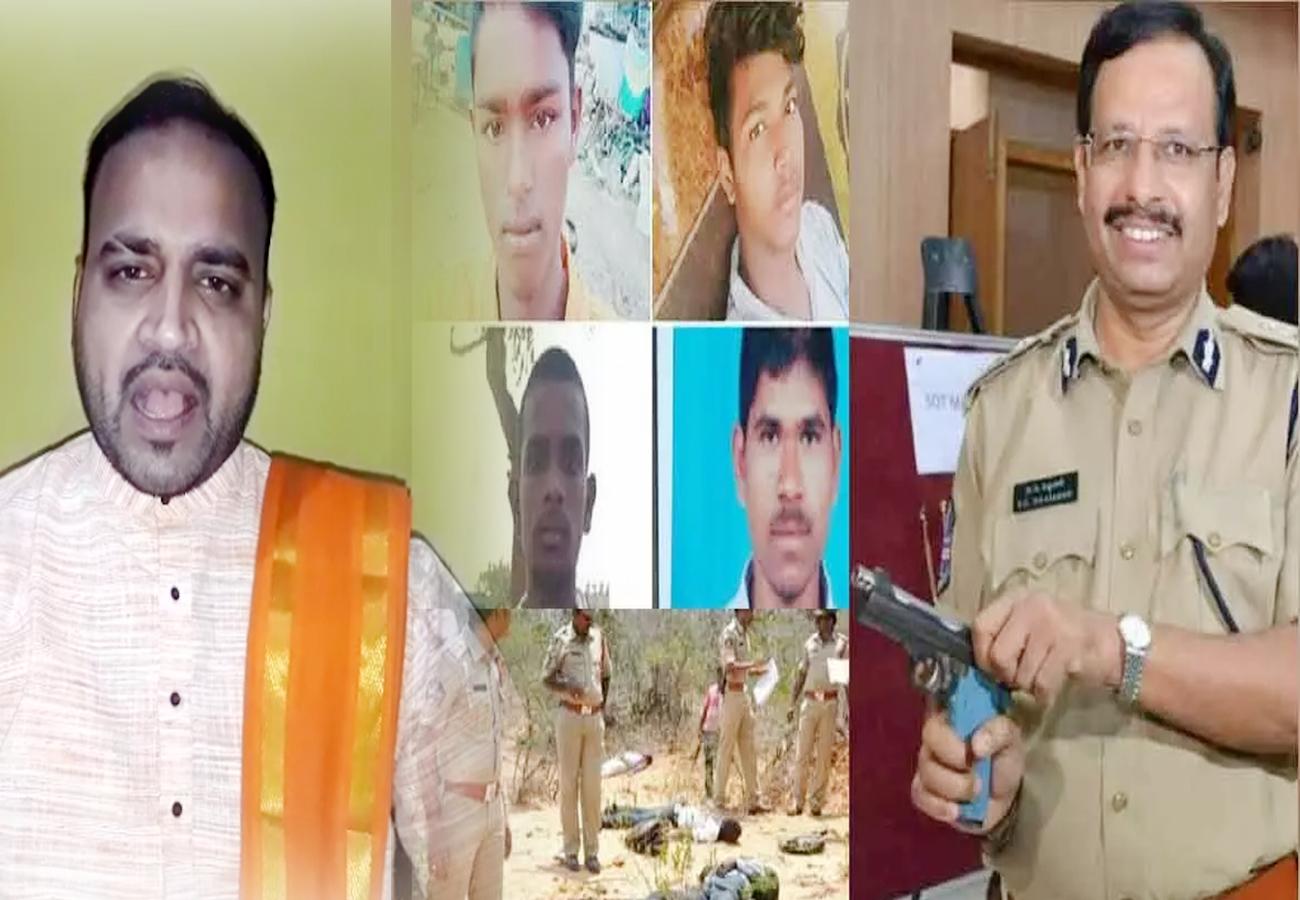 भाजपा अल्पसंख्यक मोर्चा ने की एनकाउंटर की तारीफ, पुलिसकर्मियों को भारत रत्न दिए जाने की मांग