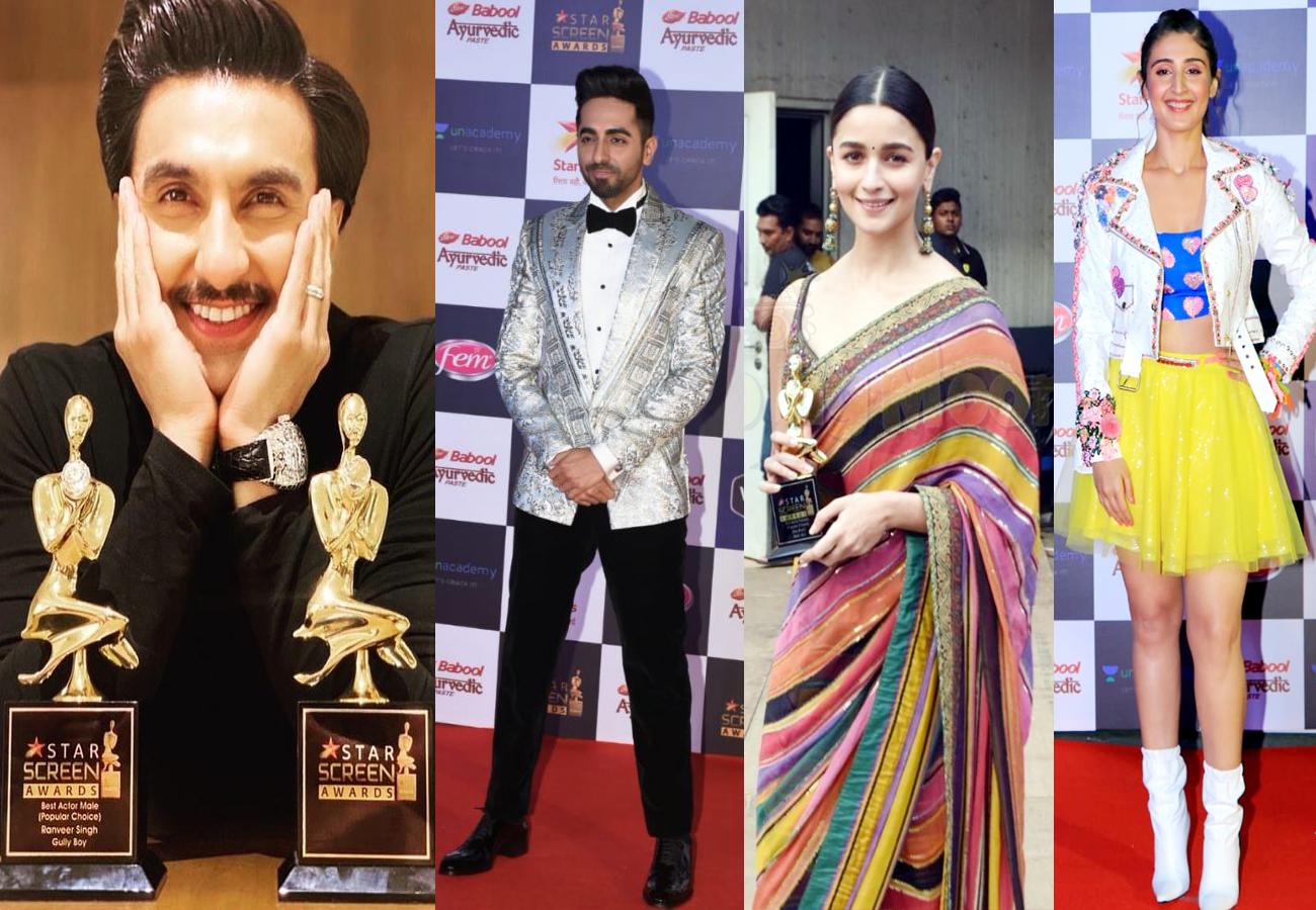 Star Screen Awards 2019: रणवीर, आयुष्मान और आलिया को मिला फैन्स का प्यार और बड़ी जीत, यहां देखें किसे कौन सा मिला अवार्ड...