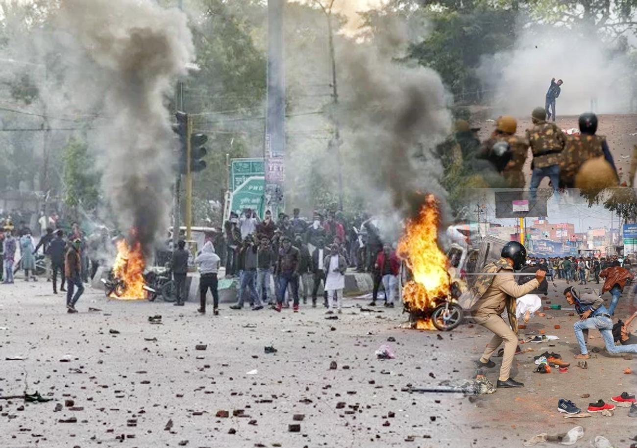 यूपी: लखनऊ, कानपुर, बहराइच, गोरखपुर, फिरोजाबाद में CAA प्रदर्शन के दौरान हिंसा, आगजनी-पथराव और फायरिंग