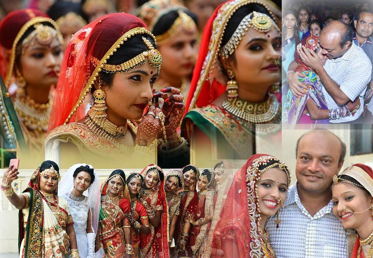 लड़कियों के लिए किसी मसीहा से कम नहीं है ये हीरा कारोबारी, इस साल फिर कराई 271 बेटियों की शादी