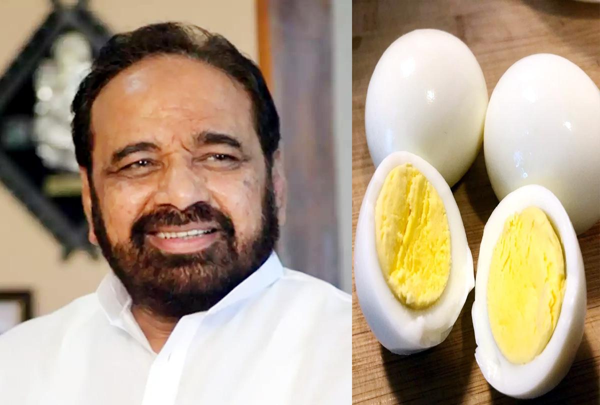 भाजपा नेता ने मध्य प्रदेश सरकार को कहा 'कुपोषित सरकार', आंगनबाड़ी में बच्चों को खाने में अंडा देने पर भड़के