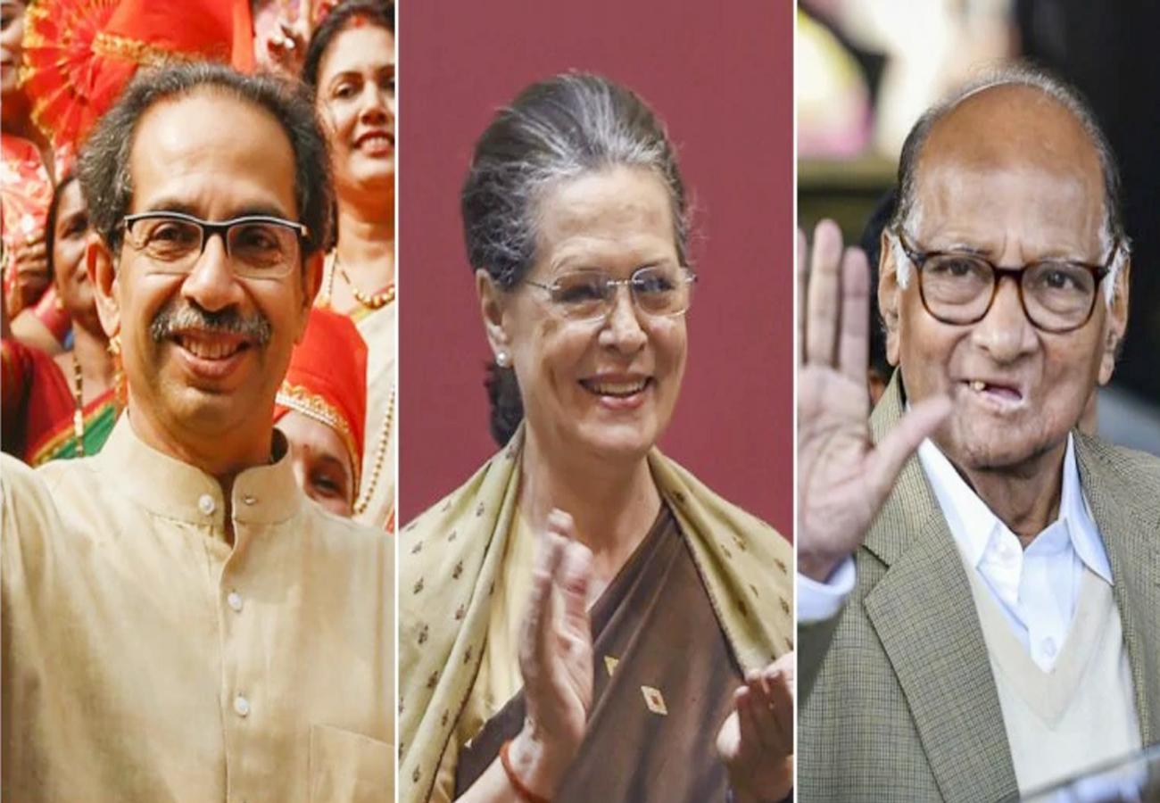 महाराष्ट्र में शिवसेना के नेतृत्व वाली सरकार बनने का रास्ता साफ, उद्धव के सिर सजेगा ताज