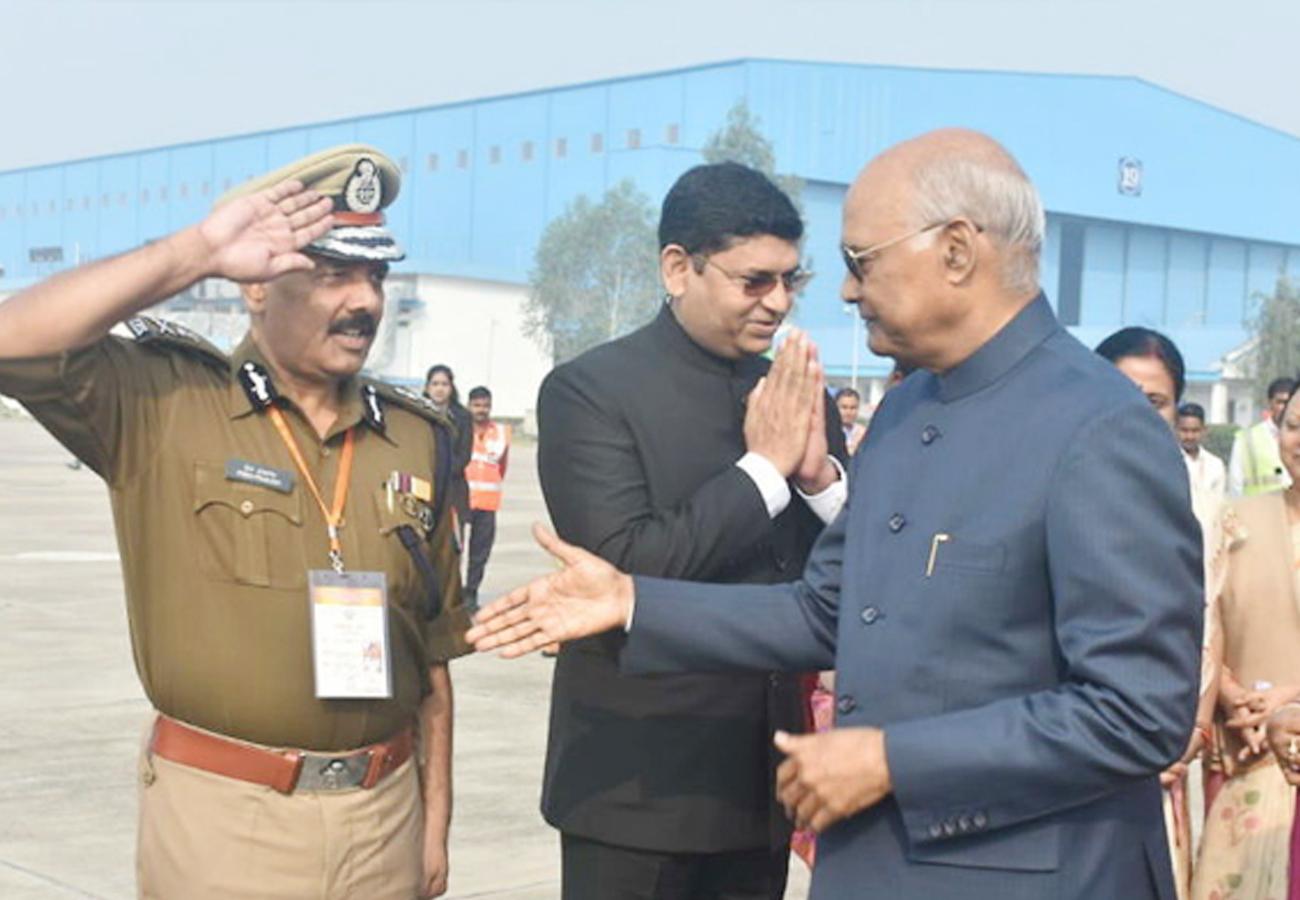 ''कानपुर न केवल मेरा शहर है बल्कि ट्रेडिशनल और मॉडर्न सिटी का बड़ा उदाहरण है''-राष्ट्रपति रामनाथ कोविंद