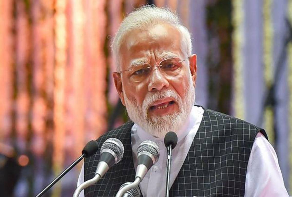 पीएम मोदी बोले-भाजपा सरकार पर नहीं हैं 'भ्रष्टाचार के दाग', कांग्रेस को ठहराया मुंबई हमले के बाद कार्रवाई न करने का दोषी