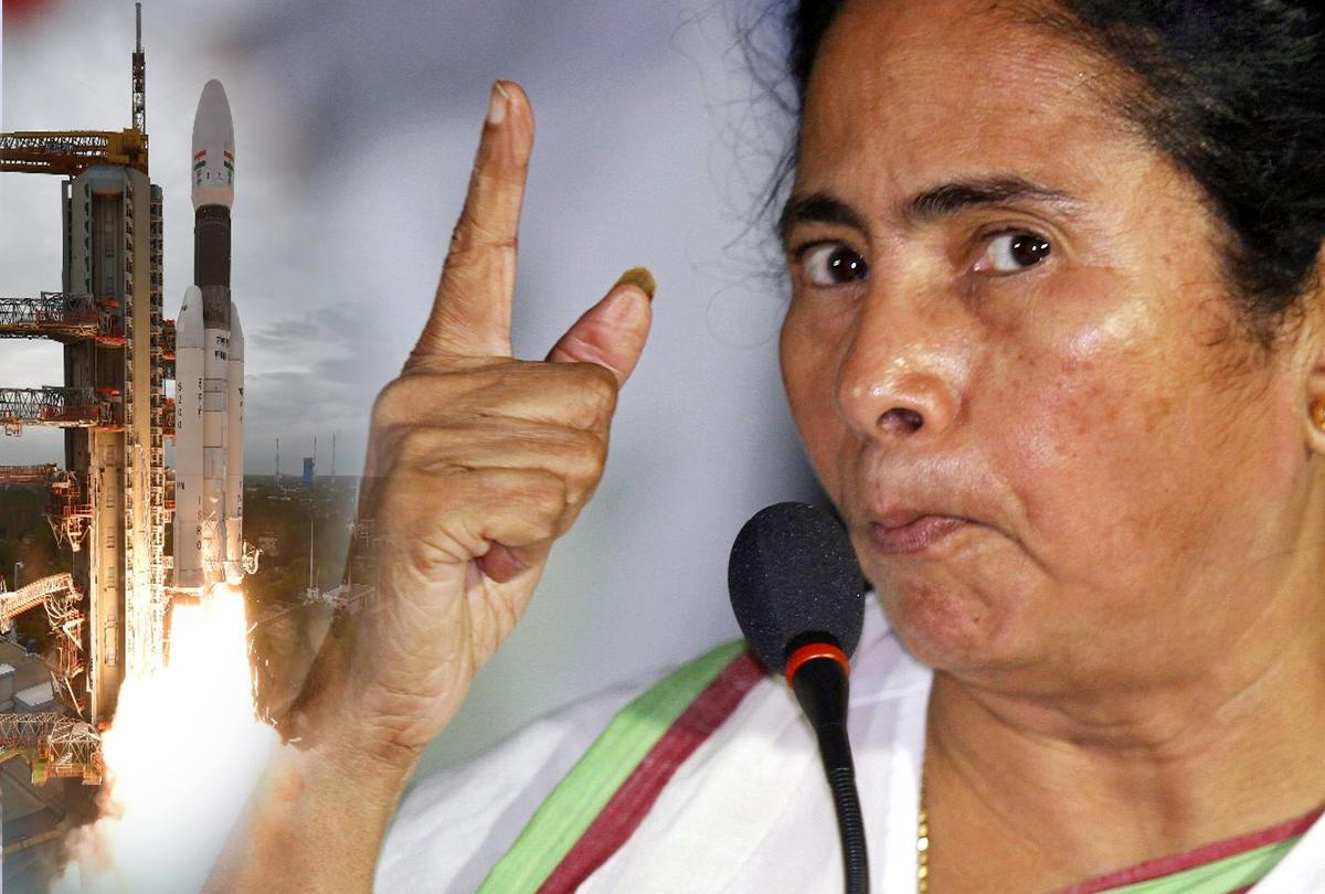 चंद्रयान-2 मिशन को लेकर ममता बनर्जी ने मोदी सरकार पर कुछ यूं साधा निशाना